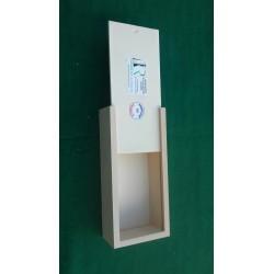Boîte de rangement pour jeu de dames Ø 32 mm