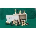 Jeux d'échecs Buis et échiquiers Bois