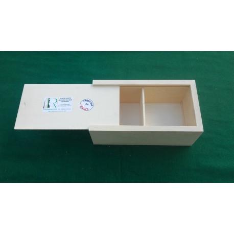 Boîte de rangement pour jeu de dames Ø 28 mm